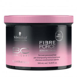 Schwarzkopf Bc Bonacure Fibre Force Bonding Cream - Máscara 500g